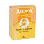 Arkovox pastilla sin azucar miel y limon 24 pastillas