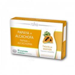 Roha Papáya + Alcachofa 30 Comprimidos