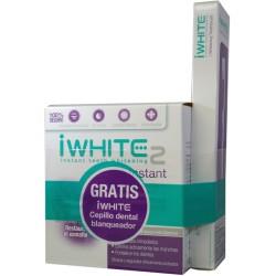 iWhite Pack Instant 2 Blanqueador Dental 10 Moldes + Regalo Cepillo Blanqueador