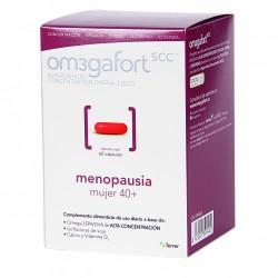 Om3gafort Menopausia Mujer 40+60 Cápsulas