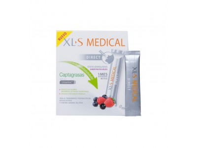 xLs Medical Captagrasas 90 Sticks Sabor Frutos Rojos