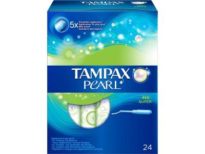 Tampax Pearl Super 24 uds.