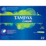 Tampax Compak Tampon Super 22 unidades
