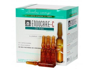 Endocare C Oil Free Ampollas 30x2ml