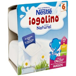 Nestlé Iogolino Yogur Natural 4x100g