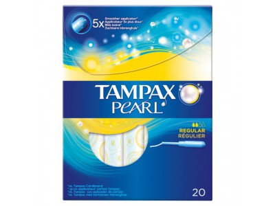 Tampax Pearl Regular 20 uds.