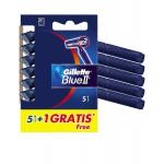 Gillette maquinilla desechable blue II 5+1