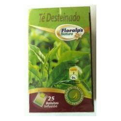 Floralp's Natura Té Verde Desteinado 25 Bolsitas