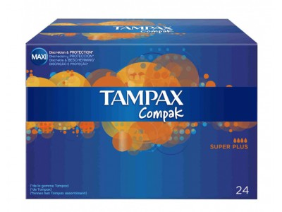 Tampax Compak Super Plus 24 uds.