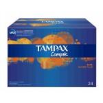 Tampax compak super plus 24 unidades