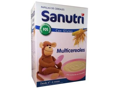 Sanutri Multicereales Fos 600g