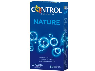 Control Preservativos Adapta Nature 12 uds. + Regalo Control Ultra Feel 3 uds.