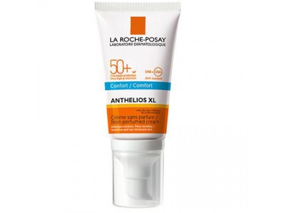 Anthelios XL SPF50 + Crema Confort Sin Perfume 50ml