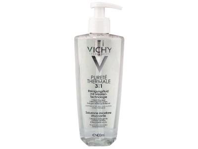 Vichy Pureté Thermale Desmaquillante Solución Micelar 3 en 1 400ml