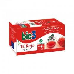Bie 3 Te Rojo Pu-Erh 25 Bolsitas Infusión