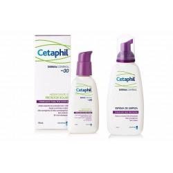 Cetaphil Dermacontrol Espuma Limpiadora 235ml + Hidratante 118ml