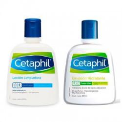 Cetaphil Pack Loción Limpiadora 237ml + Emulsión 237ml