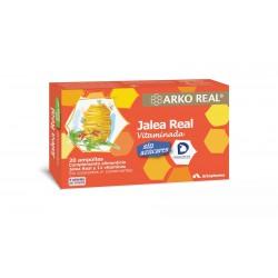 Arkoreal Jalea Real Vitaminada Sin Azucar 20 Ampollas