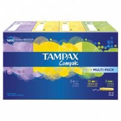 Tampax Compak Multipack 32 uds.