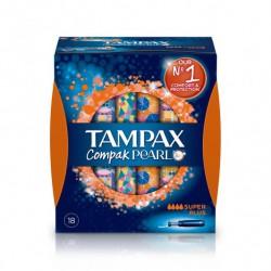 Tampax Compak Pearl Super Plus 18 uds.