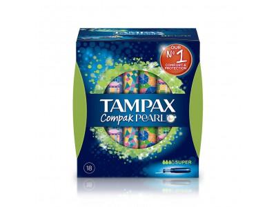Tampax Compak Pearl Super 18 uds.
