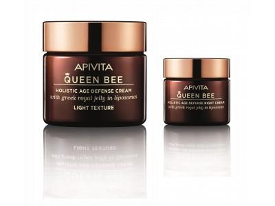 Apivita Queen Bee Crema Rica Día 50ml + Crema de Noche 15ml