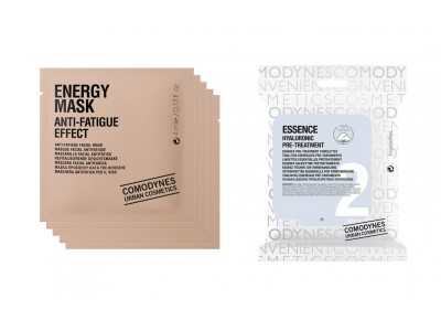 Comodynes 5 Mascarillas Energy + 1 Mascarilla Essence Hyaluronic
