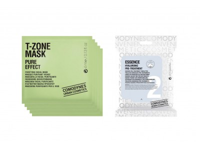 Comodynes 5 Mascarillas T-Zone + 1 Mascarilla Essence Hyaluronic