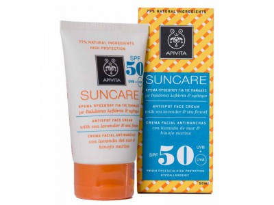 Apivita Suncare SPF50 Antimanchas 50ml