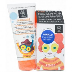 Apivita Suncare SPF50 Kids 150ml + Regalo Gel Champu 250ml
