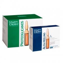 Martiderm pack Proteoglicanos 30 ampollas + Alfa Peeling 10 ampollas