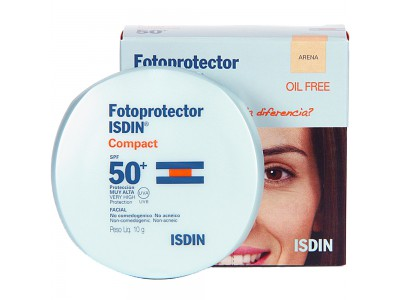 Isdin Fotoprotector Compact Oil Free Arena SPF50 10g