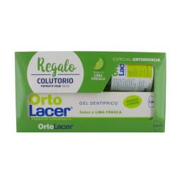 Ortolacer Gel Dental Lima Fresca 75ml + colutorio 100ml