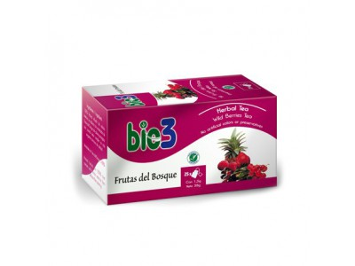 Bie3 Te de Frutas del Bosque 1.5g 25 bolsitas