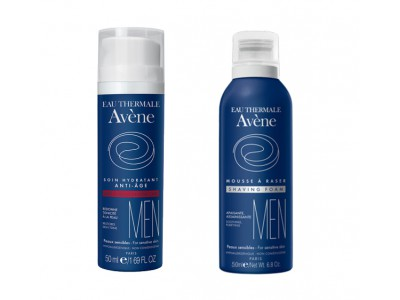 Avene Men Hidratante Anti-Edad 50ml + Espuma 50ml