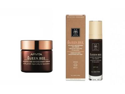Apivita Queen Bee Crema de Día SPF20 50ml + Crema de Noche 15ml