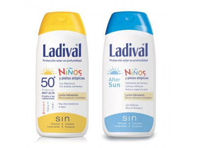 Ladival Niños SPF50 200ml + After Sun 200ml