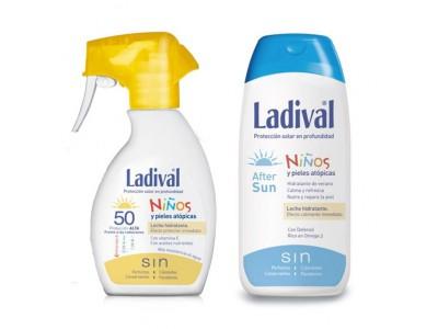 Ladival Niños Spray SPF50 200ml + After Sun 200ml