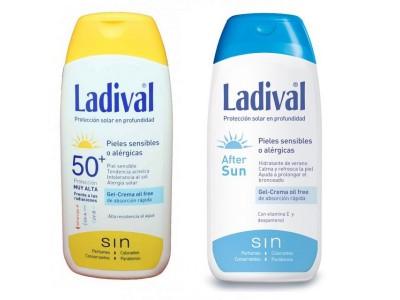 Ladival Solar Piel Sensible o Alérgica SPF50 200ml + After Sun 200ml