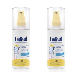Ladival Solar Spray  Piel Sensible o Alérgica SPF50 150ml 2 Uds