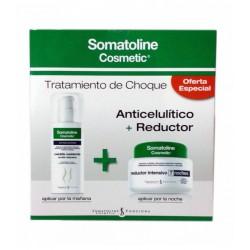 Somatoline Tratamiento Choque Anticelulitico 150ml + Reductor Intensivo Noche 450ml