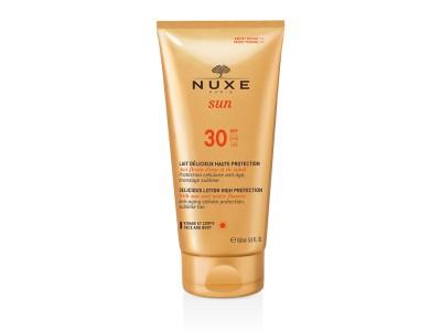 Nuxe Sun Loción Deliciosa Alta Protección Rostro y Cuerpo SPF30 150ml