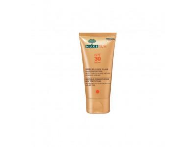Nuxe Sun Crema Facial Deliciosa Alta Protección SPF30 50ml