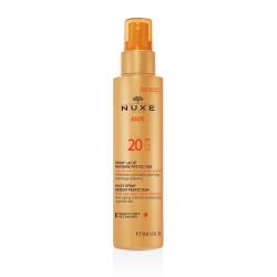 Nuxe Sun Leche Corporal y Facial En Spray Protección Media SPF20 150ml