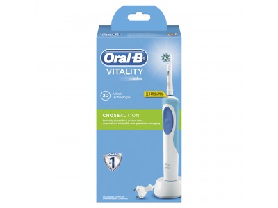 Oral-B Cepillo Electrico Vitality Crossaction Azul