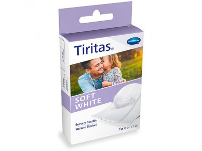 Hartmann Tiritas Soft White 1 unidad 8 cm x 1m