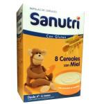 Sanutri 8 Cereales con Miel 600g