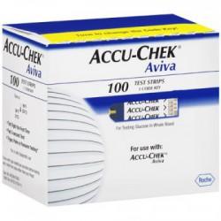 Accu-Chek Aviva 100 tiras reactivas