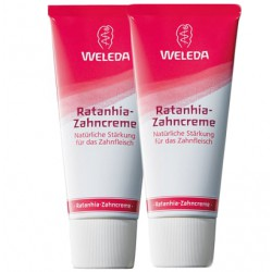 Weleda Pack Duo Gel Dentífrico Ratania 50ml