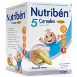 Nutriben 5 Cereales Fibra 600g